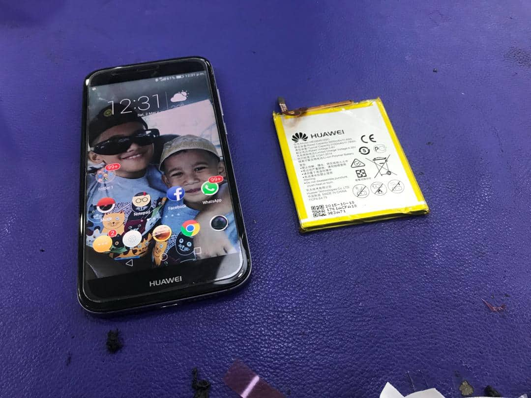 HUAWEI G8 BATERY REPLACEMENT