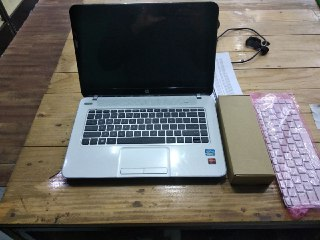 Service Laptop, replace keyboard and battery.