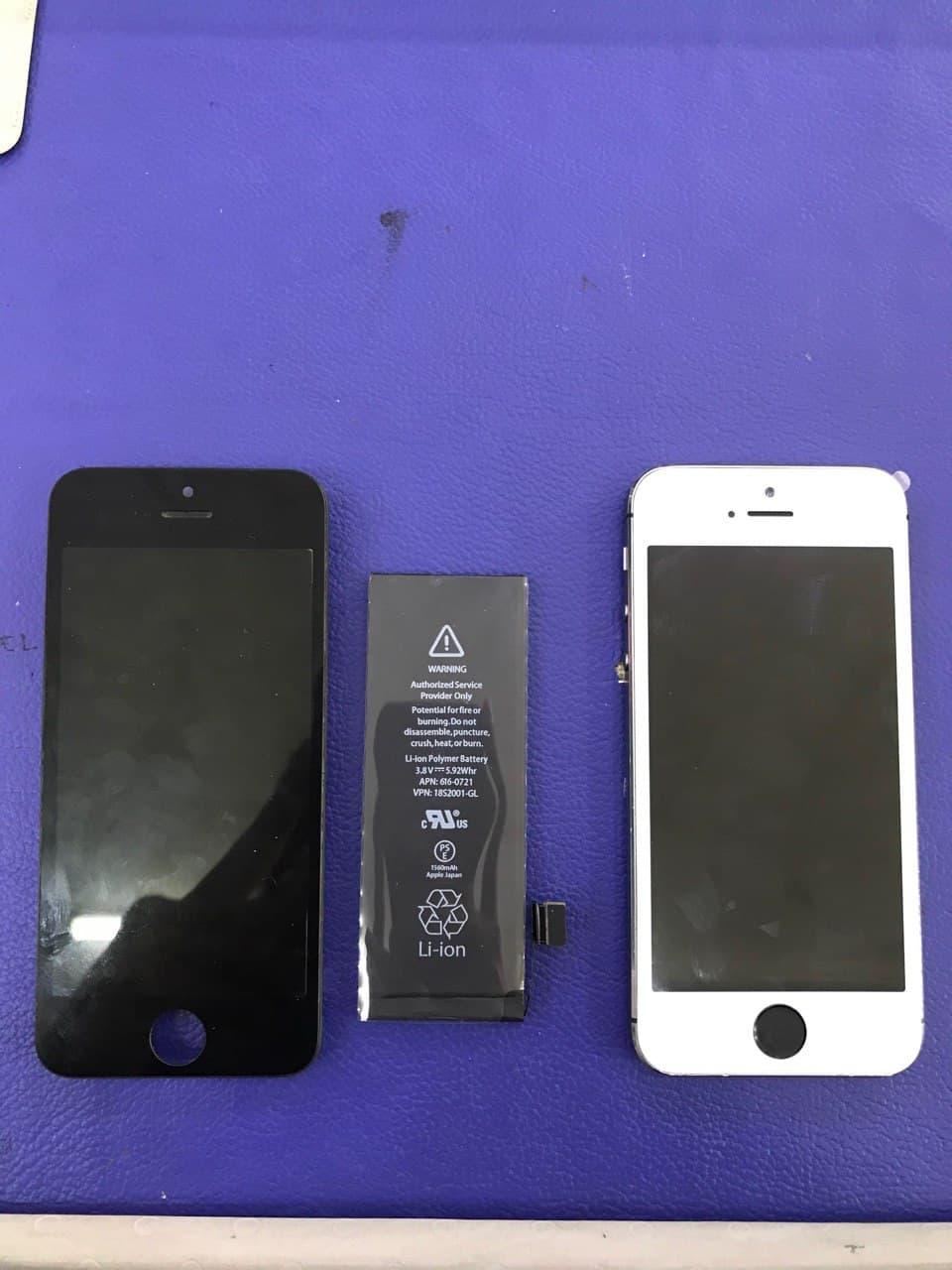 Repair Iphone battery and LCD di Kedai Repair Phone Bangi
