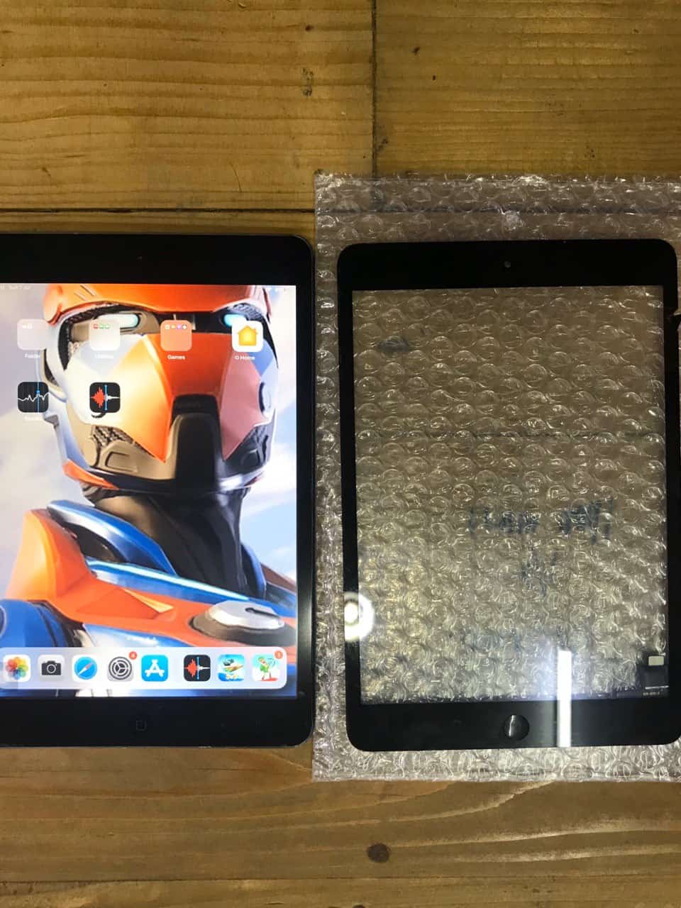 Ipad Mini 2 LCD replacement di kedai repair phone bangi