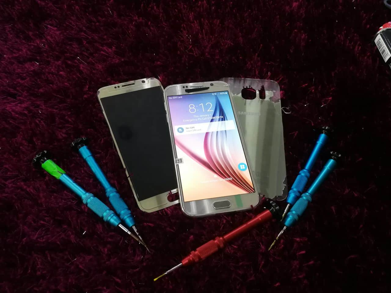LCD Replacement for Samsung S6