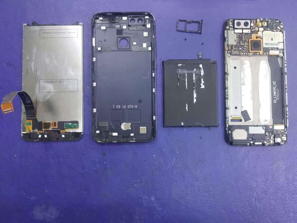 WATER DAMAGE TREATMENT Xiaomi Mi A1