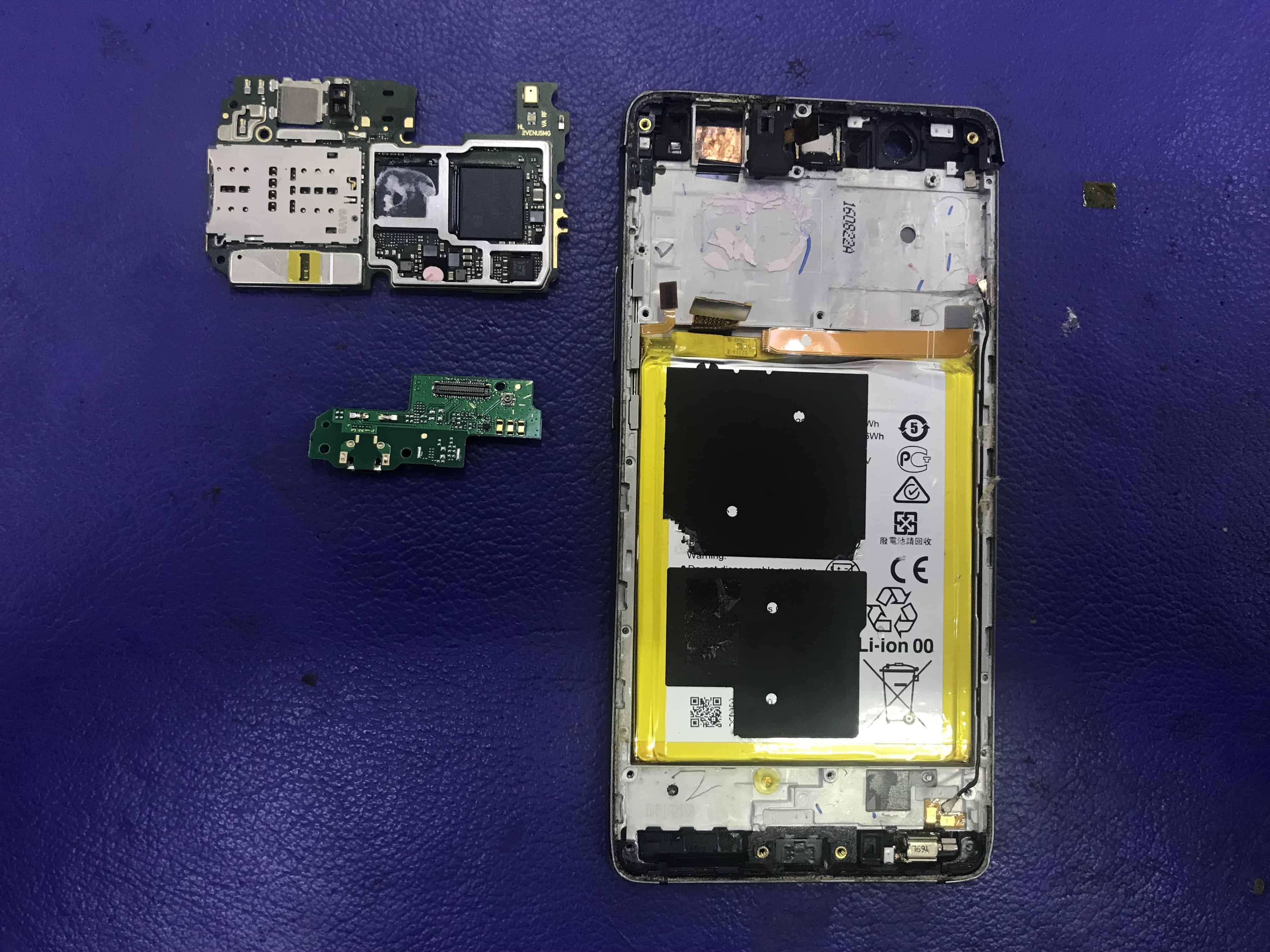 WATER DAMAGE –  Huawei P9 Lite