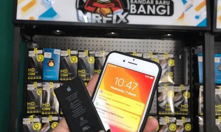 Penukaran Bateri IPhone 7