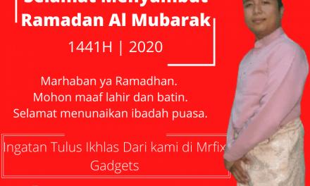 Salam Ramadan 1441 Hijriah