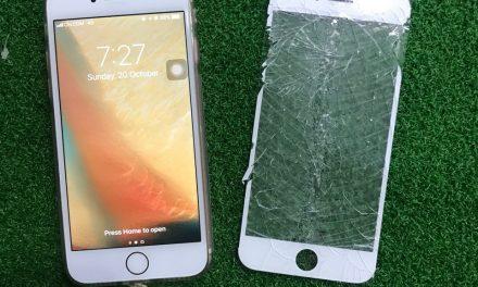 Penukaran Glass Iphone 7