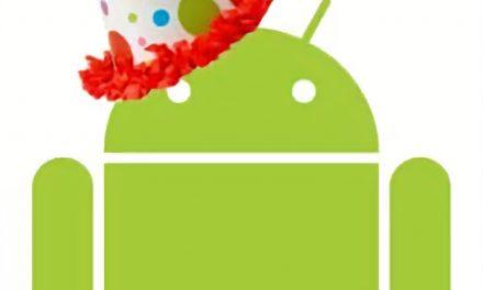Selamat ulang tahun ke-13, Android!