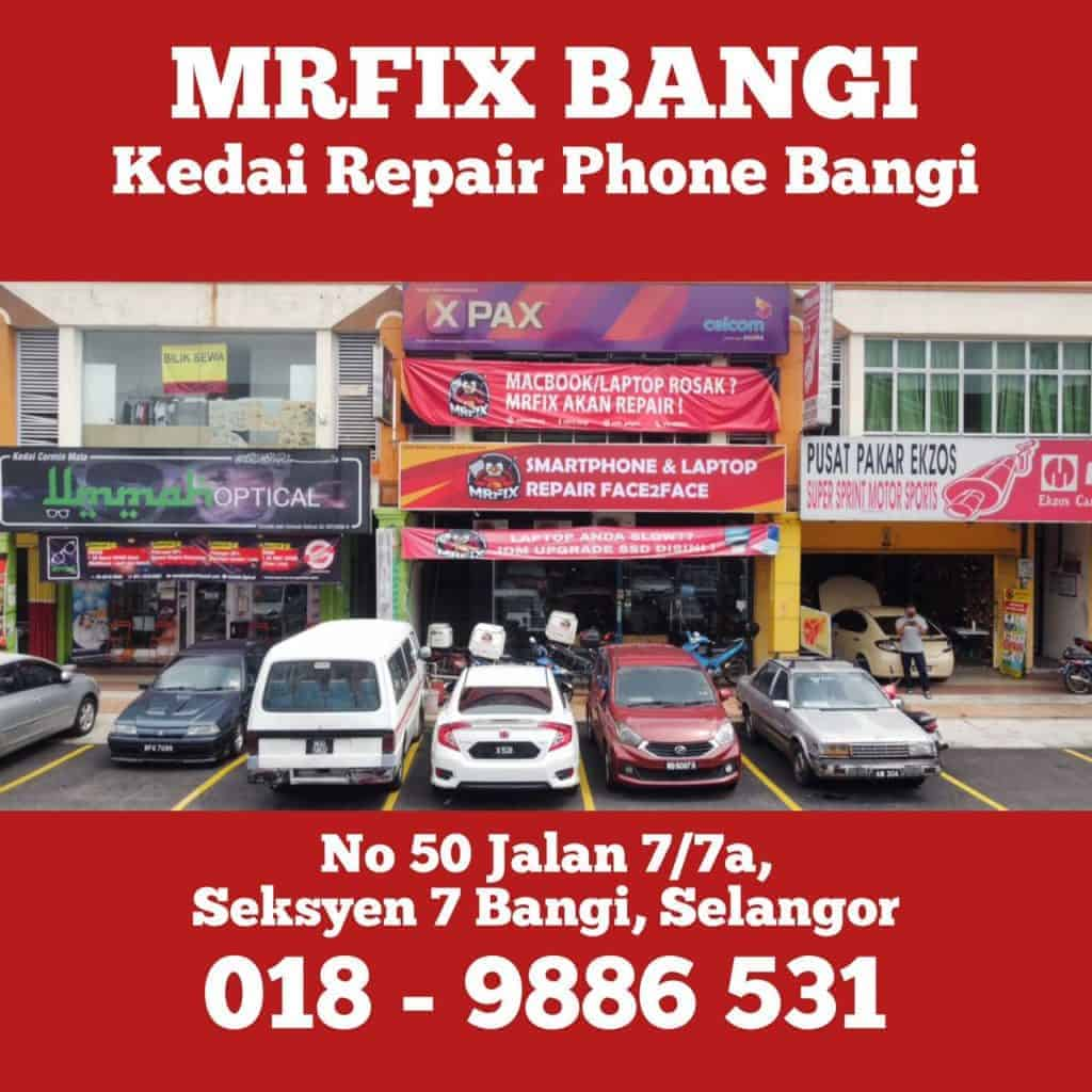 MrFix Bangi: iPhone 7 plus screen replacement, cheap and affordable