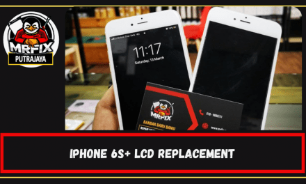 LCD Replacement for Iphone 6s+ Because of Dead Pixel: Mrfix Putrajaya